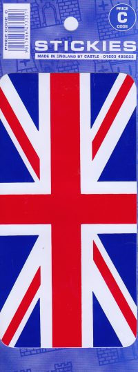 Union Jack Large Sticker