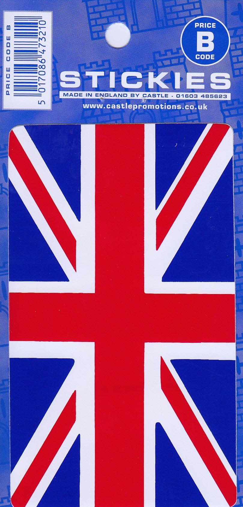 V11 Medium Union Jack Sticker