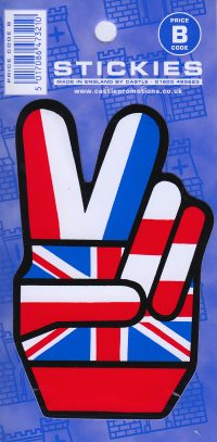 V14 V Sign Sticker