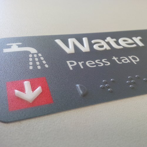Brail Water Tap Sign500x500