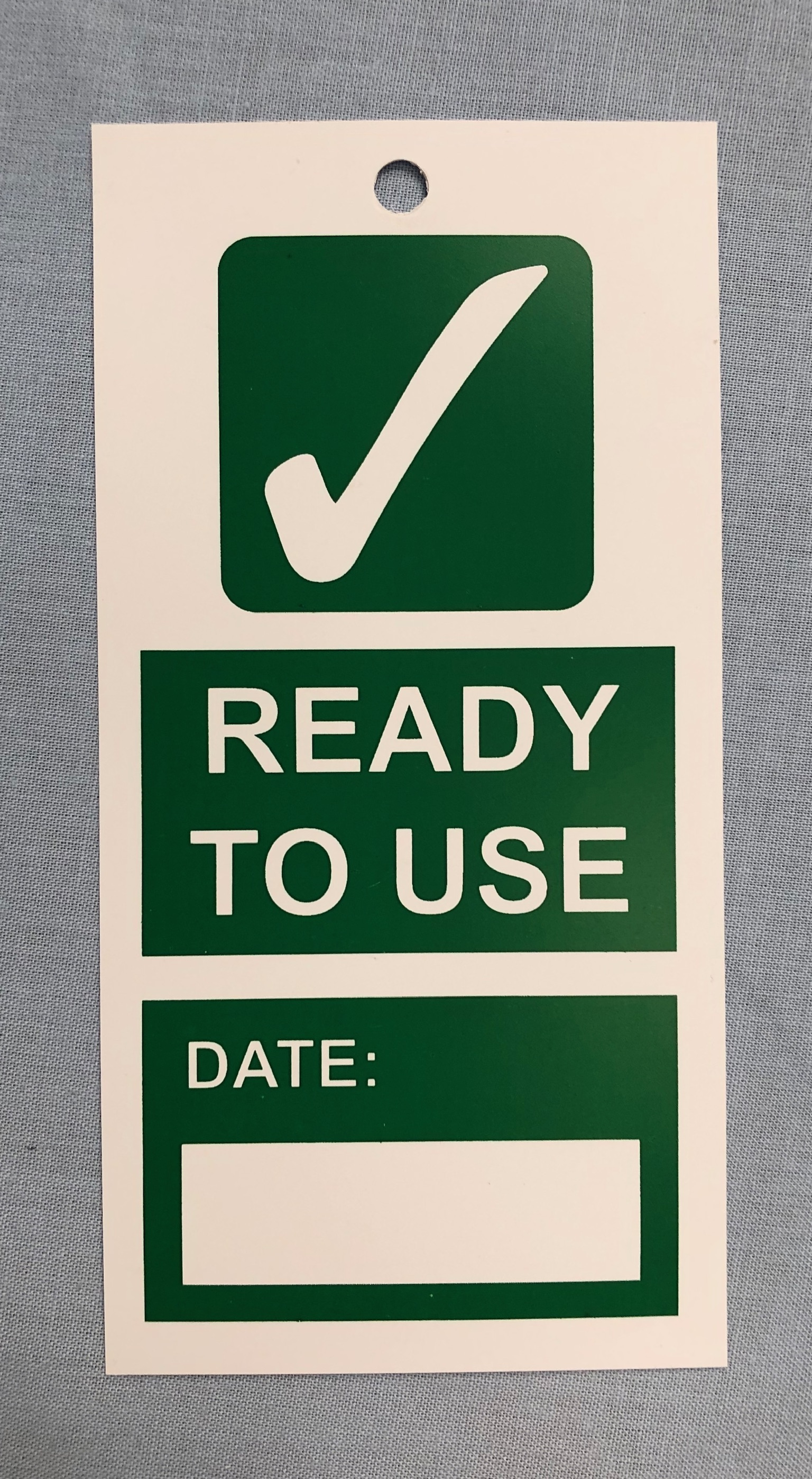 Scaffolding Safety Tags